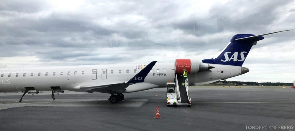 SAS Plus Stockholm Trondheim fly