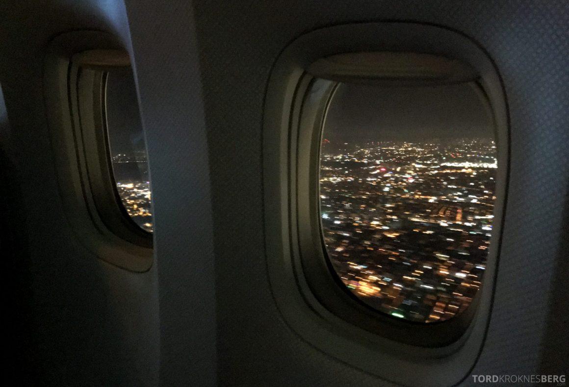 Turkish Airlines Business Class Istanbul Jakarta adjø