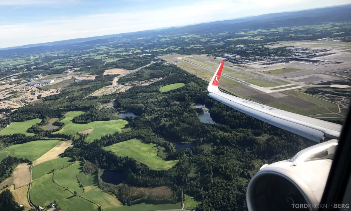 Turkish Airlines Business Class Oslo Istanbul Gardermoen