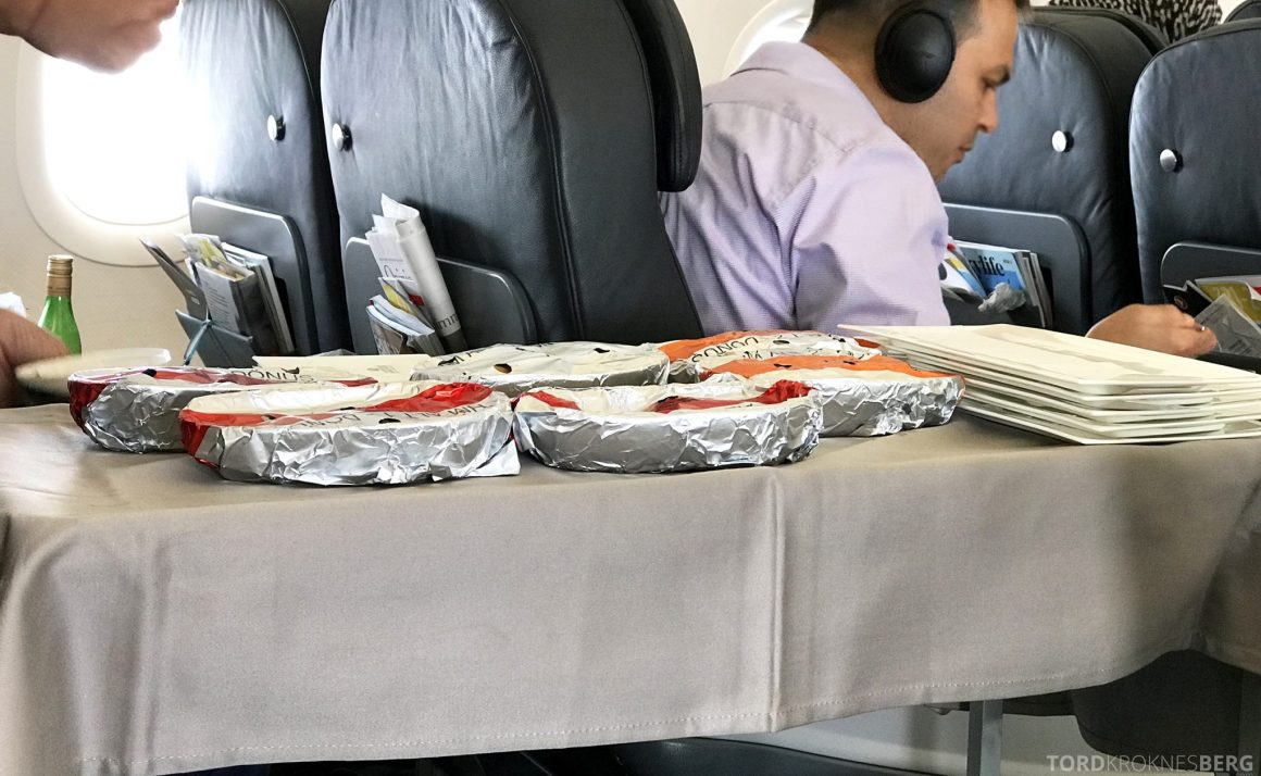 Turkish Airlines Business Class Oslo Istanbul hovedrett