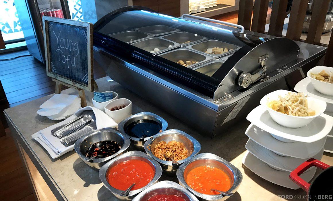 Garuda Indonesia Domestic Lounge Jakarta suppe