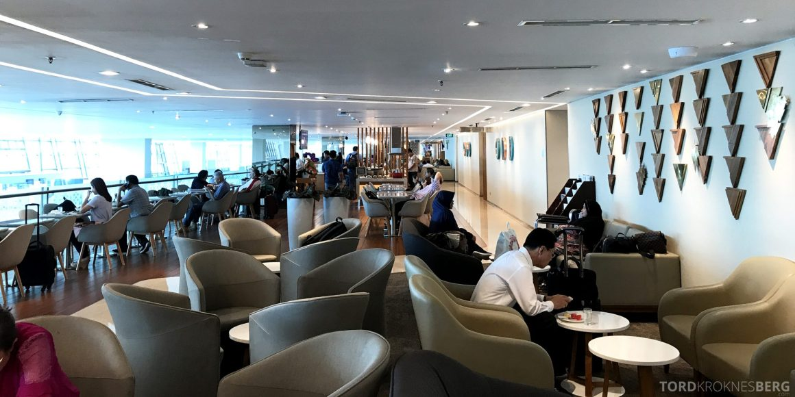 Garuda Indonesia Domestic Lounge Jakarta oversikt