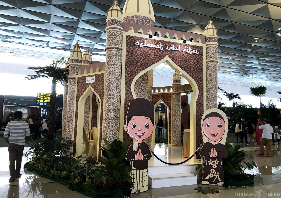 Garuda Indonesia Jakarta Terminal moské