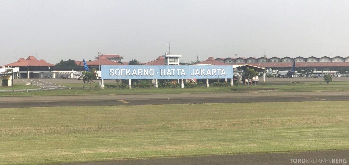 Garuda Indonesia Jakarta flyplass
