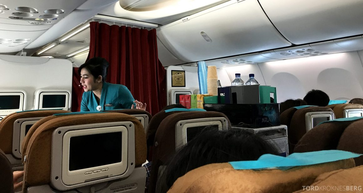 Garuda Indonesia Jakarta servering