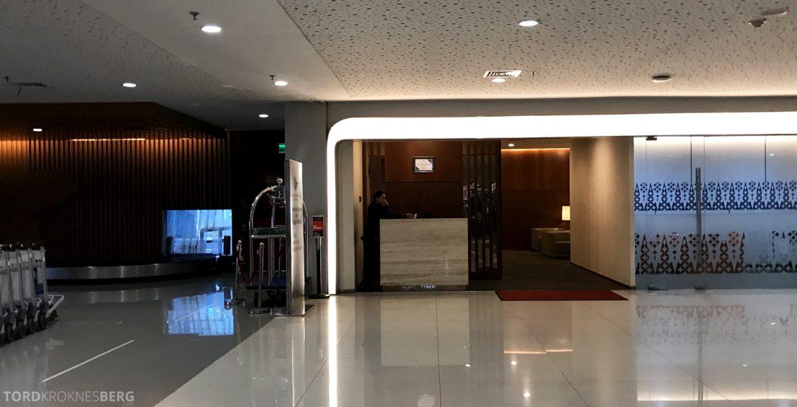 Garuda Indonesia Jakarta ankomstlounge