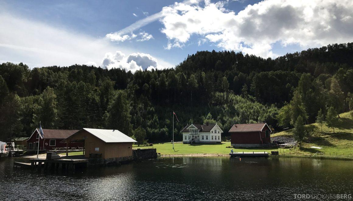 MS Henrik Ibsen Cruise Telemarkskanalen sommer