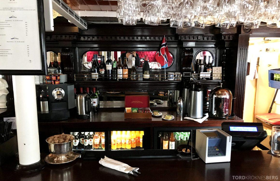 MS Henrik Ibsen Cruise Telemarkskanalen bar