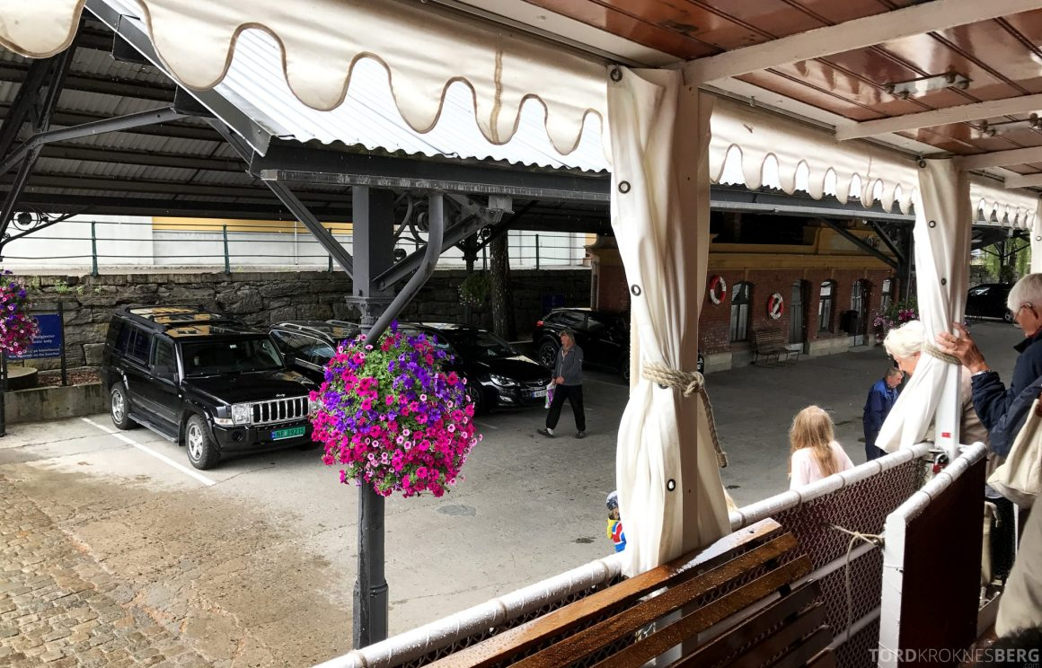 MS Henrik Ibsen Cruise Telemarkskanalen avstigning Skien