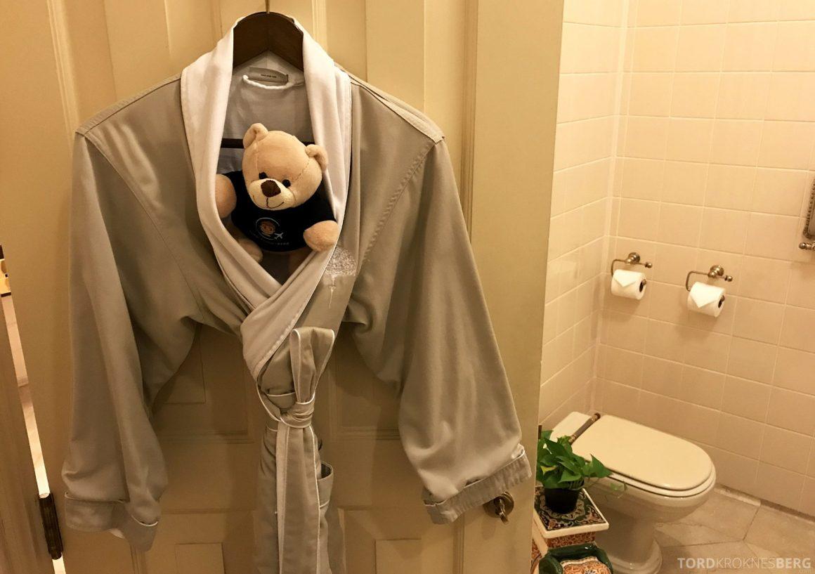 Raffles Hotel Singapore badekåpe
