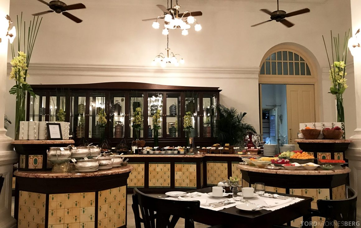 Raffles Hotel Singapore frokostbuffet