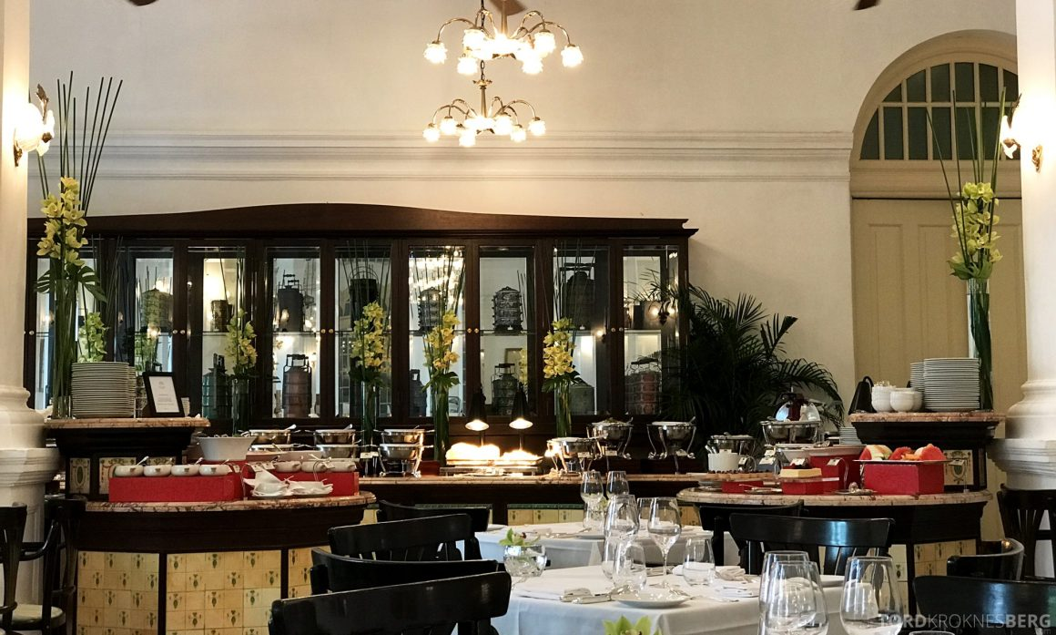 Raffles Hotel Singapore lunchbuffet