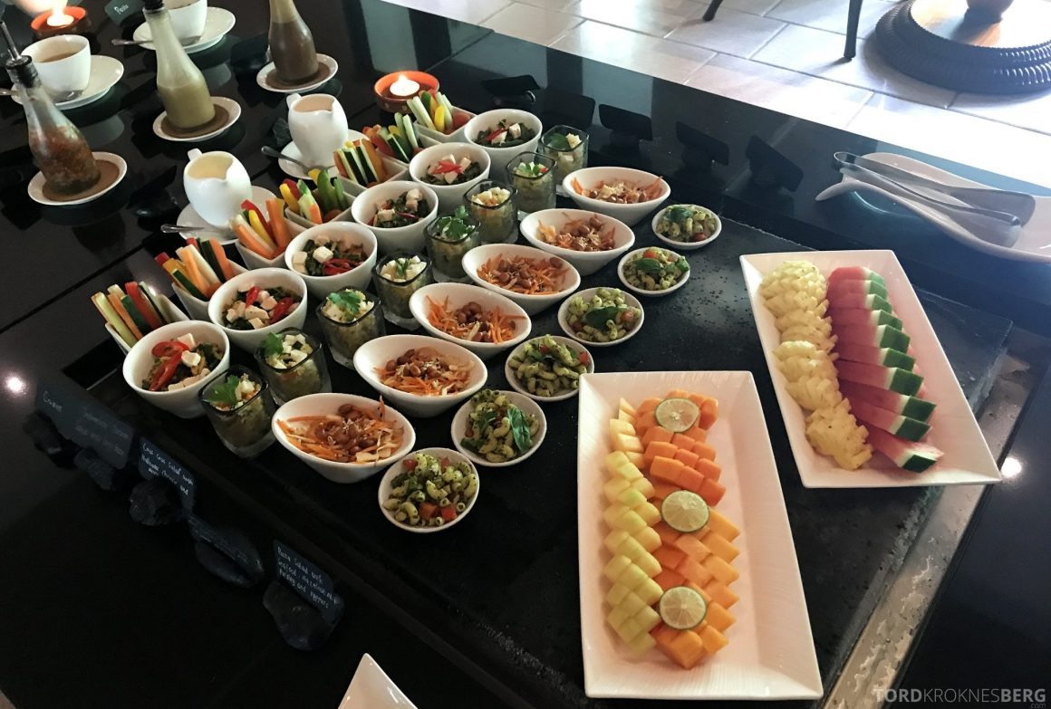 Ritz-Carlton Bali Club Lounge lunch