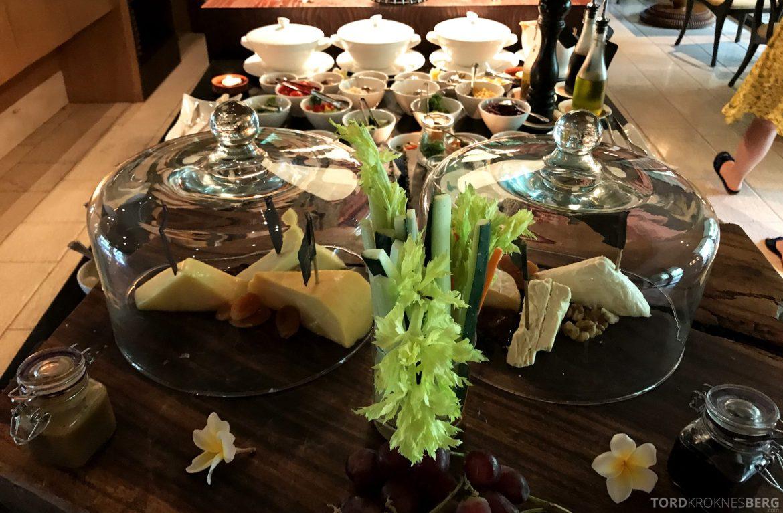 Ritz-Carlton Bali Club Lounge frokostbuffet