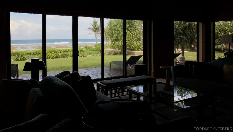 Ritz-Carlton Bali Suites presidential suite stue