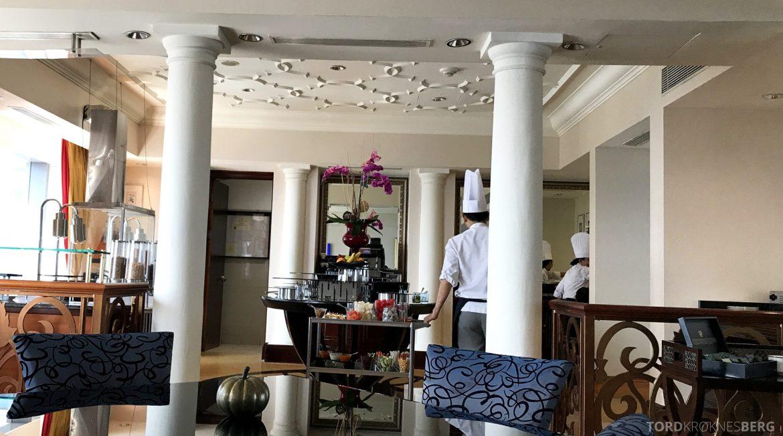 Ritz-Carlton Jakarta Club Lounge kokker