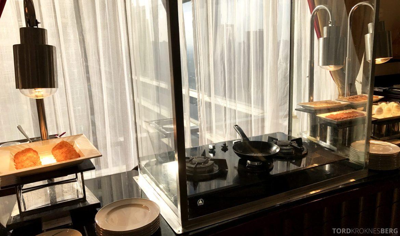Ritz-Carlton Jakarta Club Lounge lunch