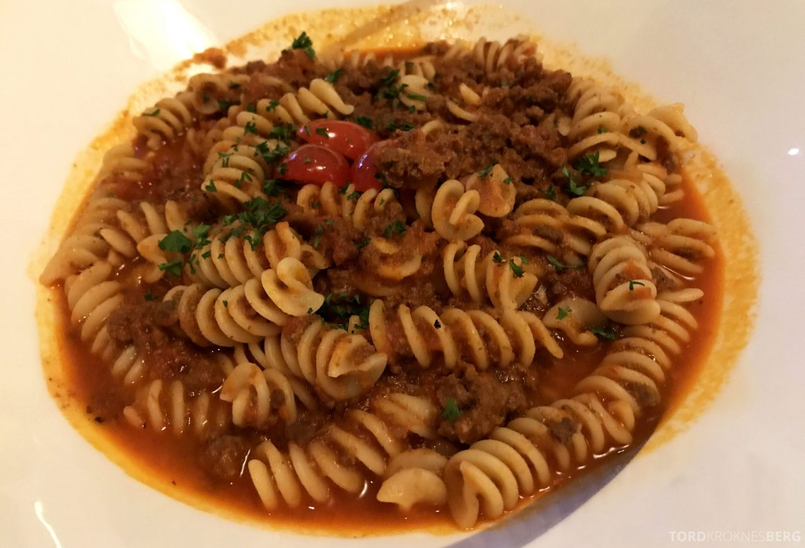 Ritz-Carlton Jakarta Club Lounge pasta room service