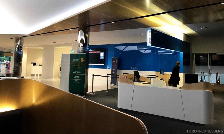 Singapore Airlines Business Class Wellington Canberra Changi transitt