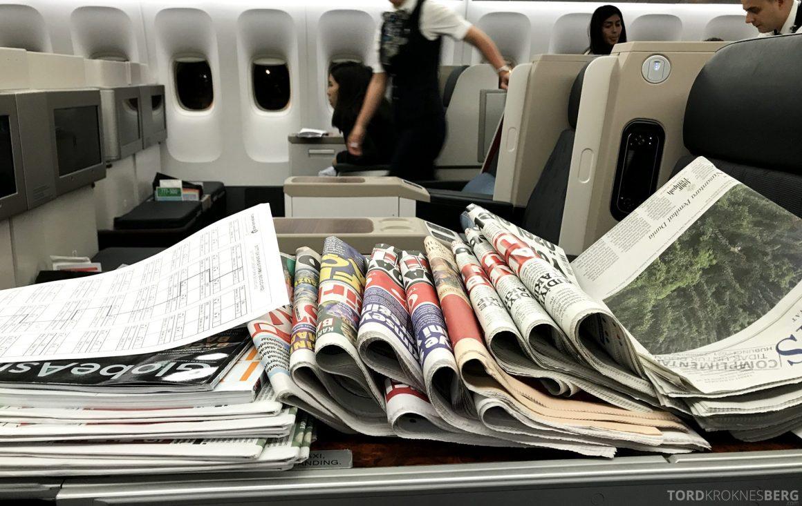 Turkish Airlines Business Class Jakarta Istanbul aviser