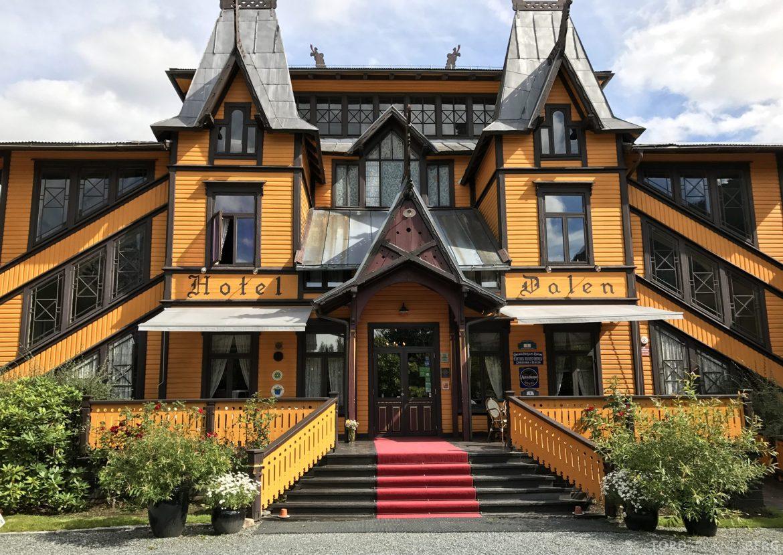 Dalen Hotel Telemark inngangsparti