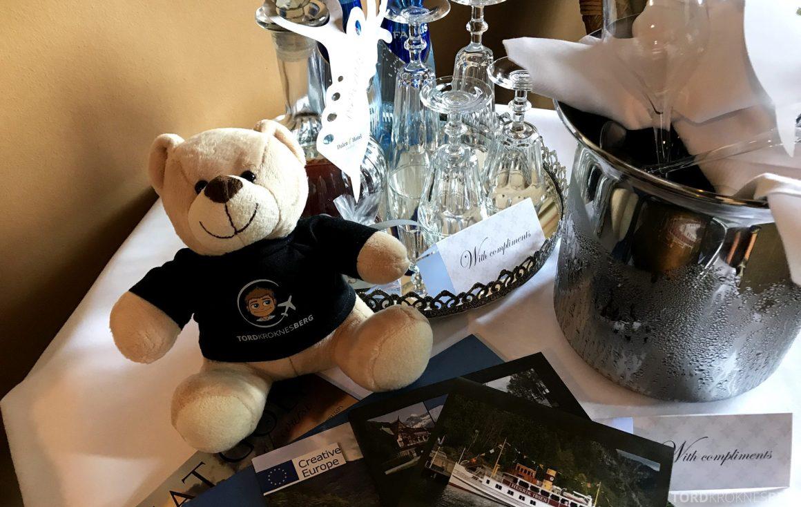 Dalen Hotel Telemark reisefølge velkomstgave
