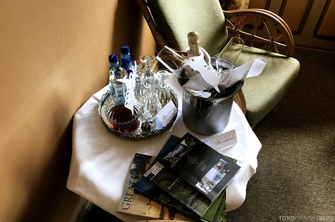 Dalen Hotel Telemark velkomstgave