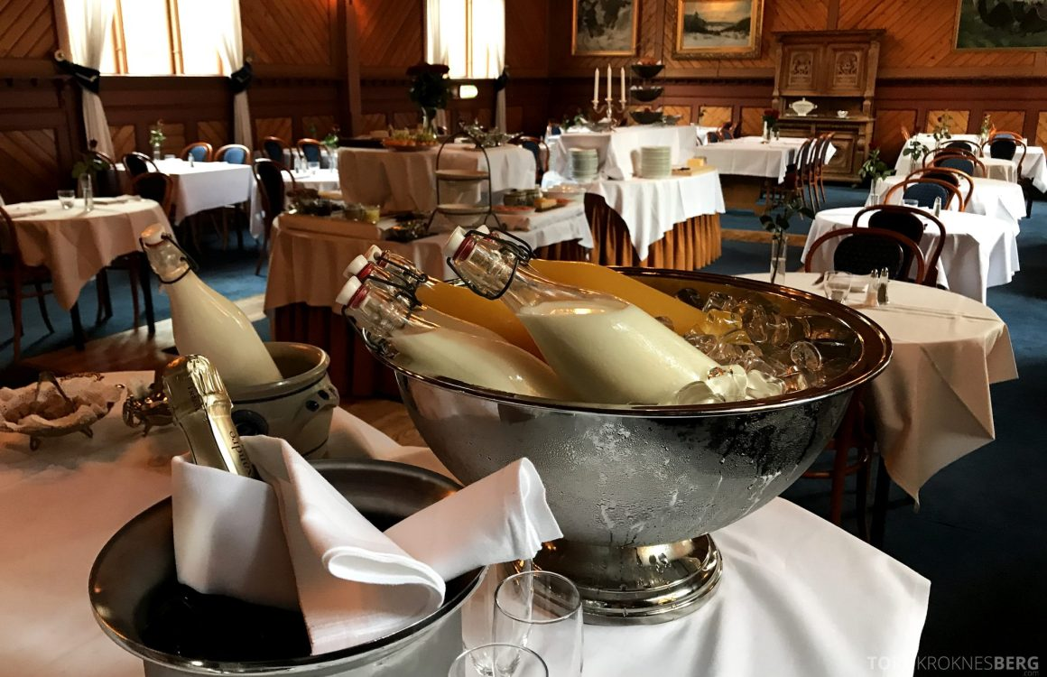 Dalen Hotel Telemark champagnefrokost