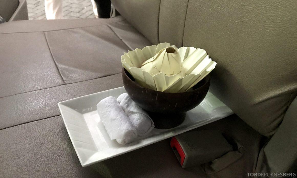 Ritz-Carlton Bali service i bilen