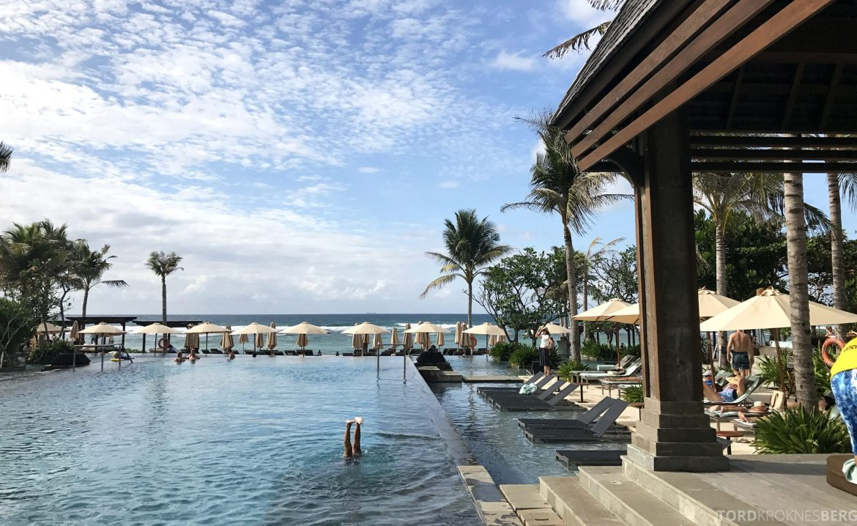 Ritz-Carlton Bali bassengområde
