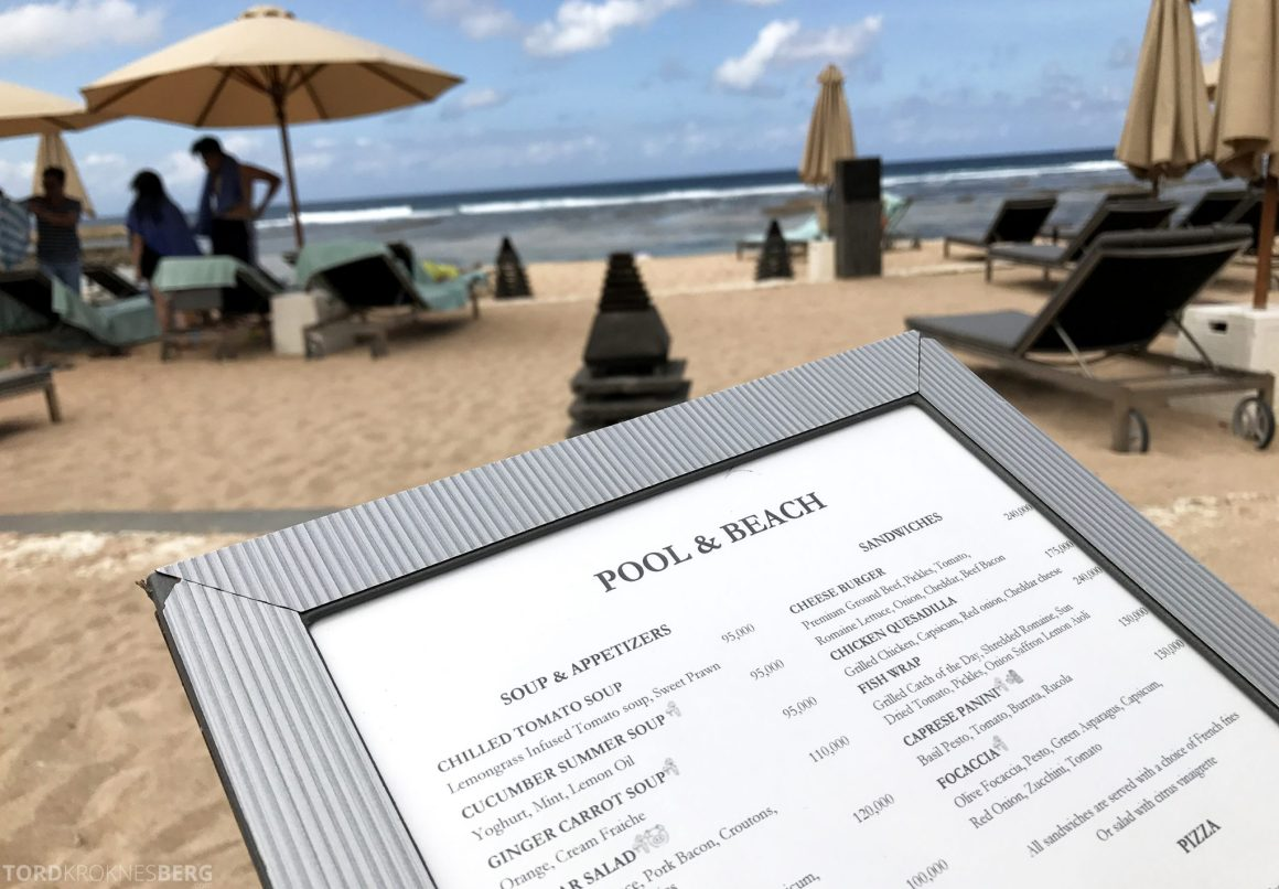 Ritz-Carlton Bali mat strand