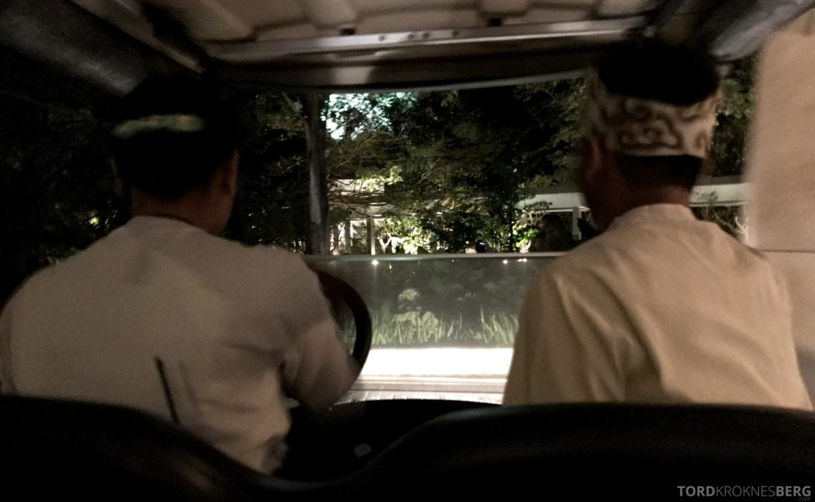 Ritz-Carlton Bali golfbil