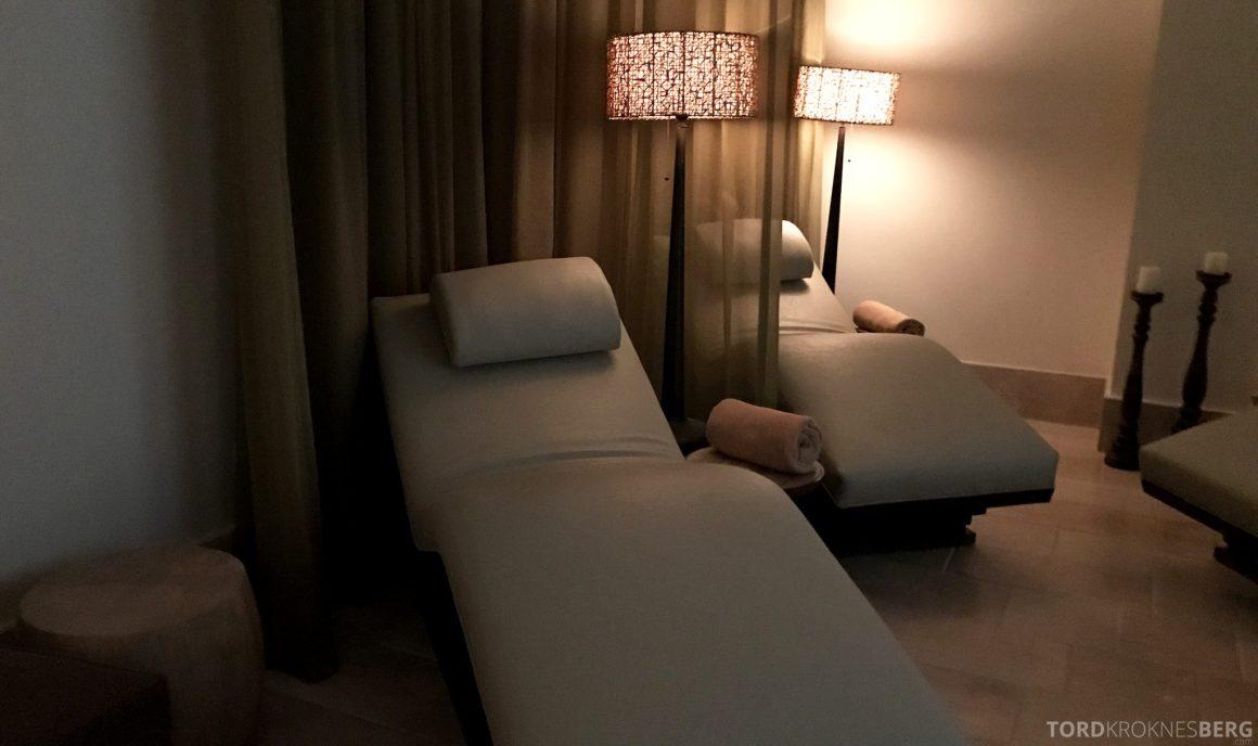 Ritz-Carlton Bali avslapning spa