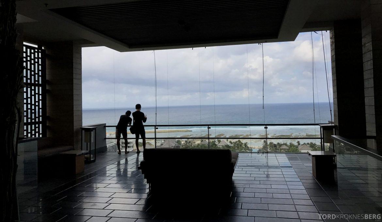 Ritz-Carlton Bali utsikt fra resepsjon