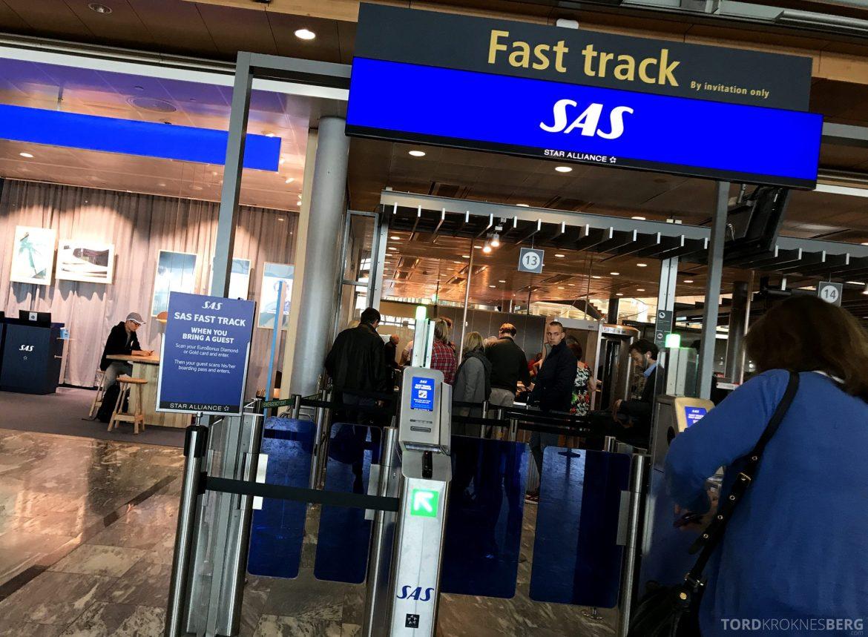 SAS Plus Oslo San Francisco fast track