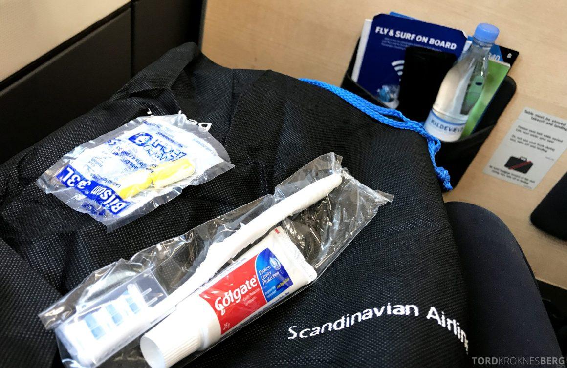 SAS Plus Oslo San Francisco amenity kit
