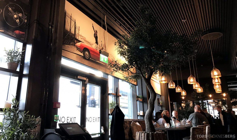 Restaurant Olivia Solsiden Trondheim utsikt