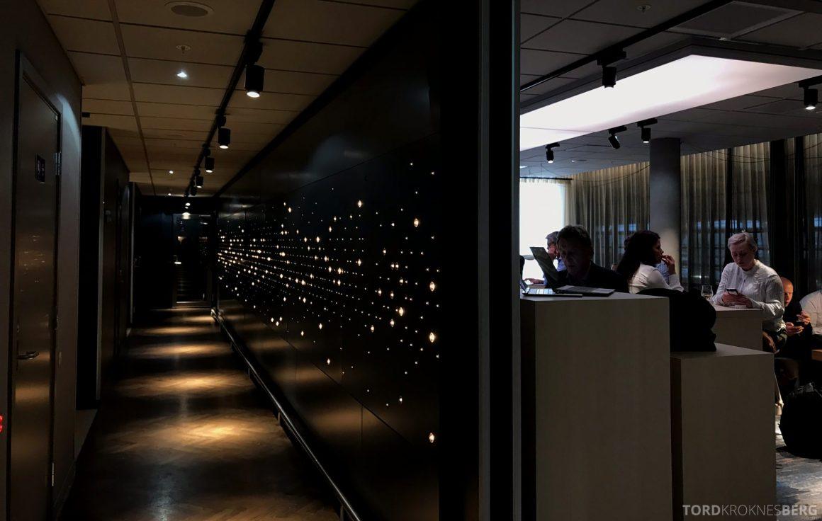 SAS Lounge Oslo Innland korridor