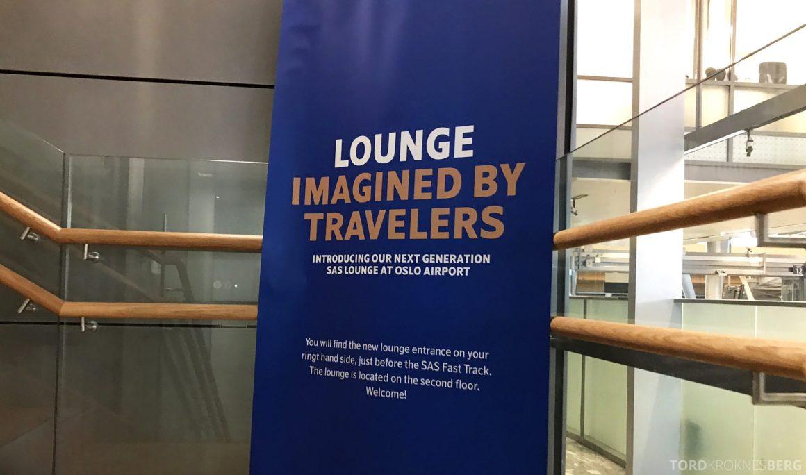 SAS ny Lounge Oslo Innland