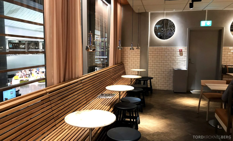 SAS Lounge Oslo Innland plasser