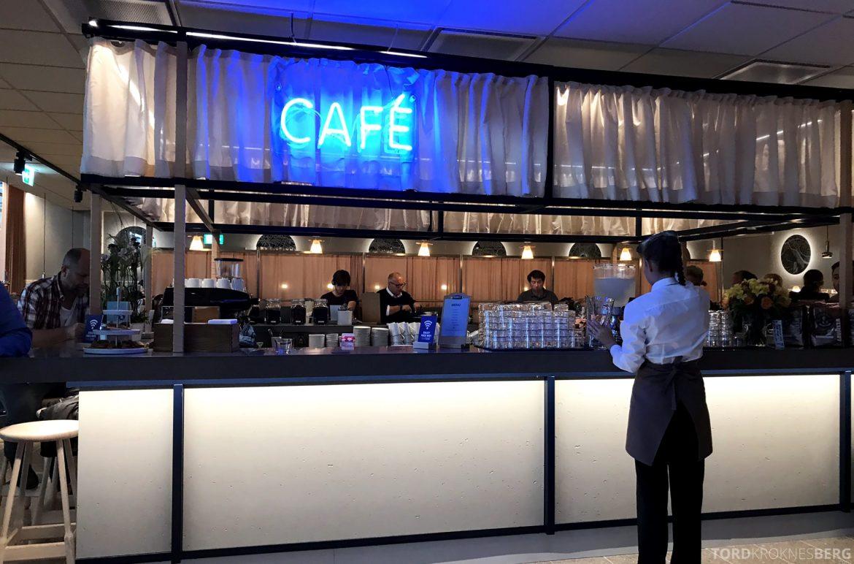 SAS Lounge Oslo Innland café