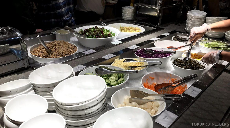 SAS Lounge Oslo Innland buffet
