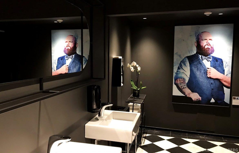 Grand Café Oslo toalett