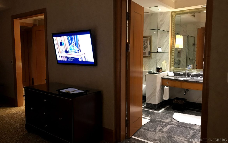 Ritz-Carlton Jakarta seng bad