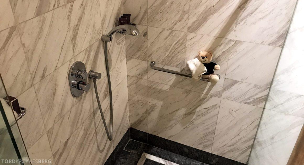 Ritz-Carlton Jakarta dusj