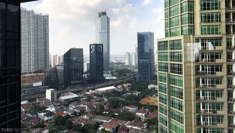 Ritz-Carlton Jakarta utsikt