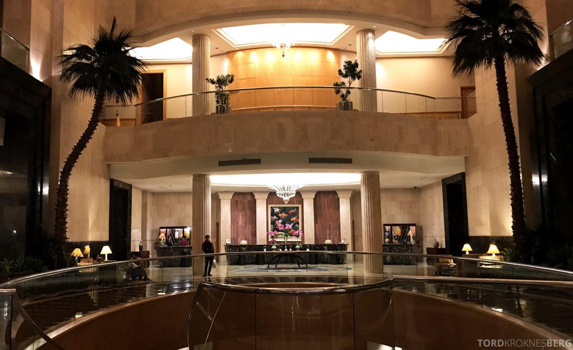 Ritz-Carlton Jakarta resepsjon