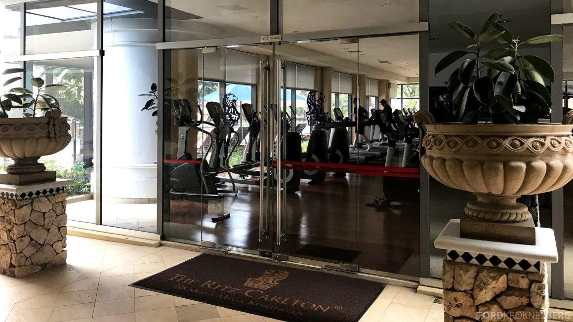 Ritz-Carlton Jakarta fitness center