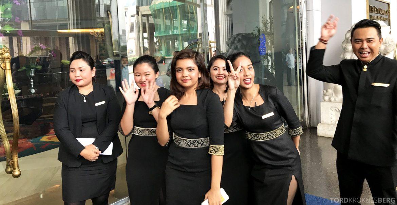 Ritz-Carlton Jakarta ansatte