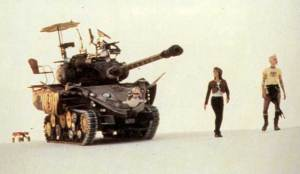Tank Girl (1995) stars Lori Petty, Naomi Watts, Ice T and Malcolm McDowell. Dir: Rachel Talalay